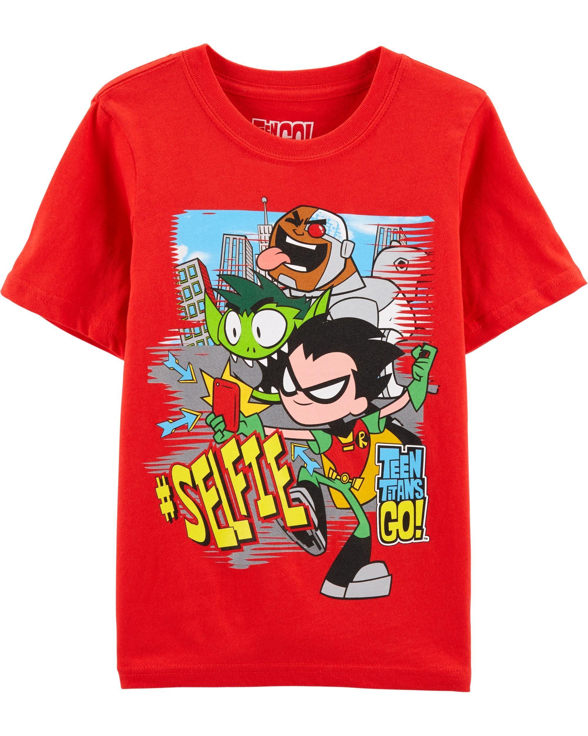 dc115dd3785 Kid Boy Teen Titans Tee