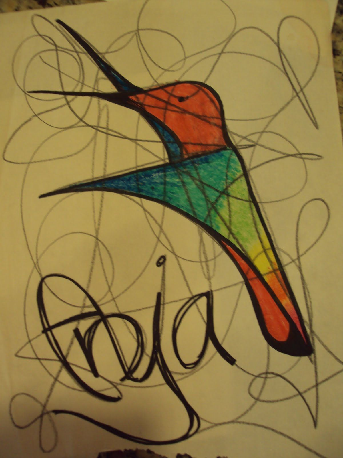 Scribble Drawing Lesson Plan : Scribbling is like brainstorming a warm up sometimes