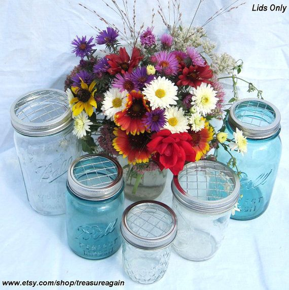 Flowers In Jars Wedding: Pin On Wedding Thoughts