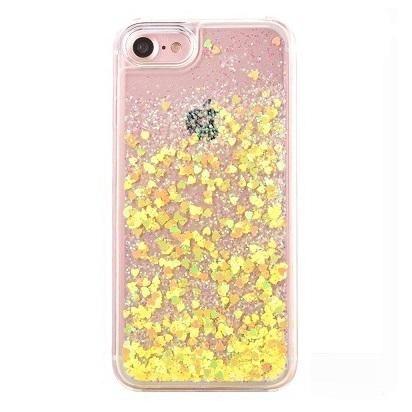 229cff20ab Yellow Stardust Liquid Glitter iPhone Case in 2019   Shopping list ...