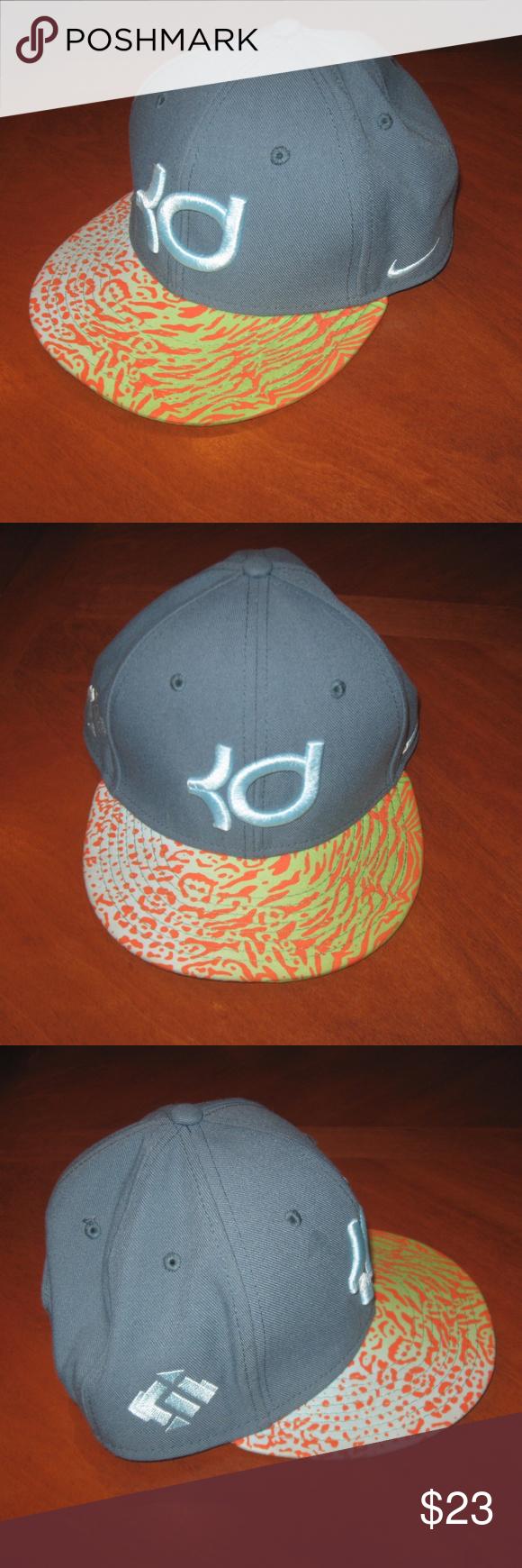 Nike KD Hat Green Snapback Excellent
