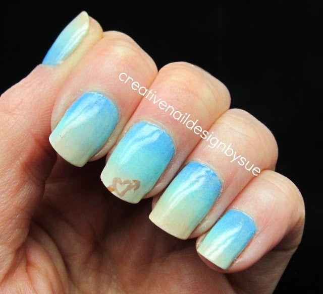 acrylic nail beach designs