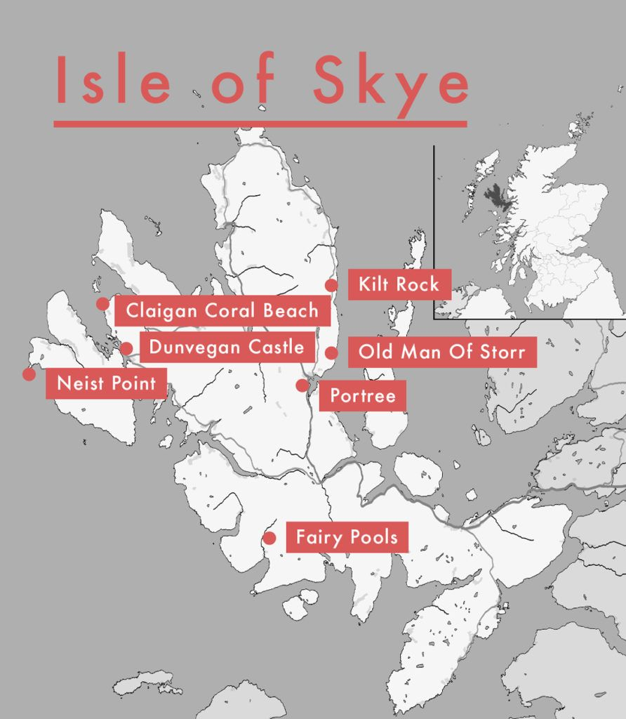 Photo of Die top 8 Sehenswürdigkeiten der Isle of Skye