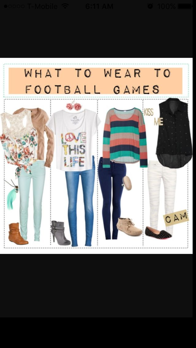 I literally love all these outfits, I would wear them to school and everywhere!