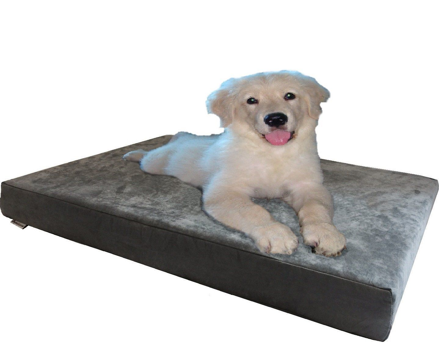 Orthopedic Waterproof Dog Bed with 100 Memory Foam Pad