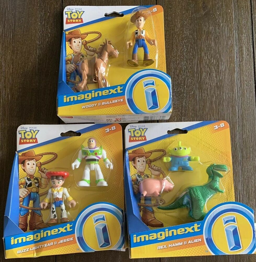 Details About Imaginext Disney Pixar Toy Story Fisher