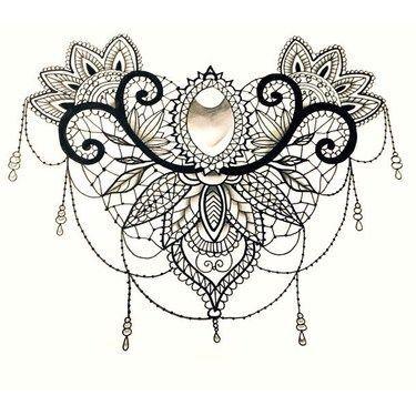Best Lace Tattoo Design  Tattoo Designs Lace Tattoo Design And