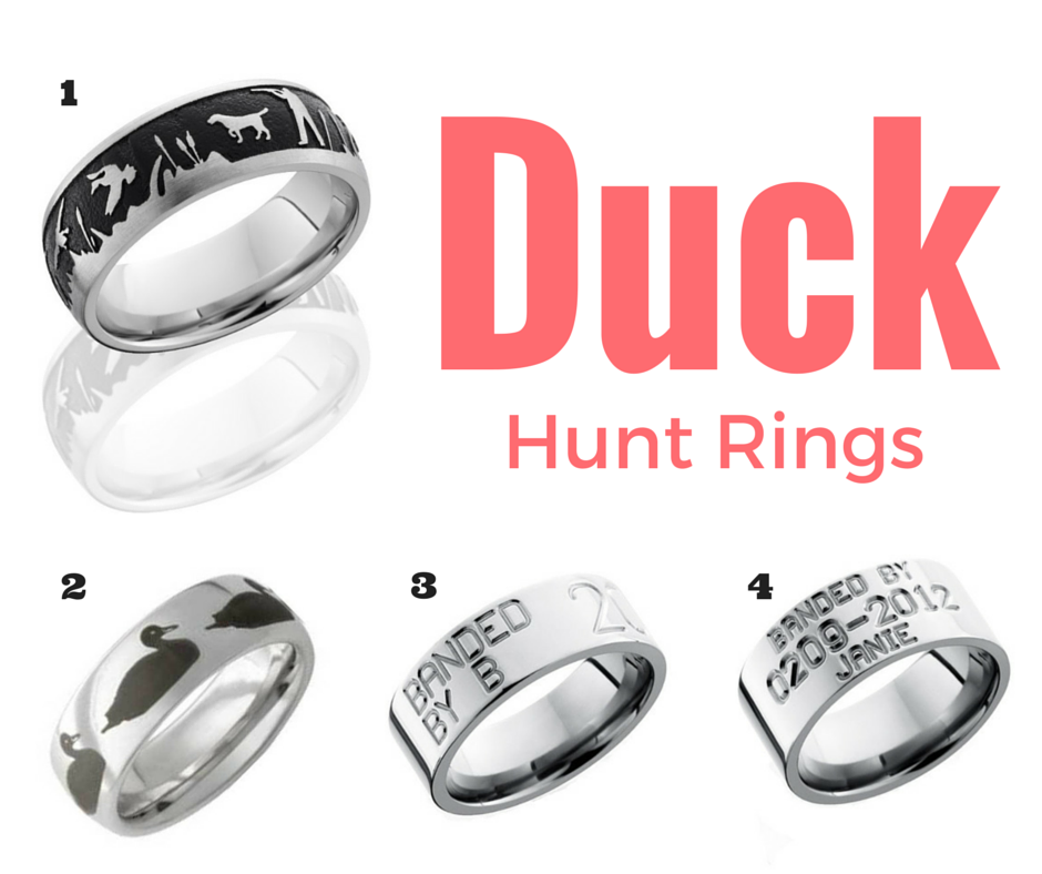 Surprise Your Hunter For Your Anniversary Hunting Rings Rings