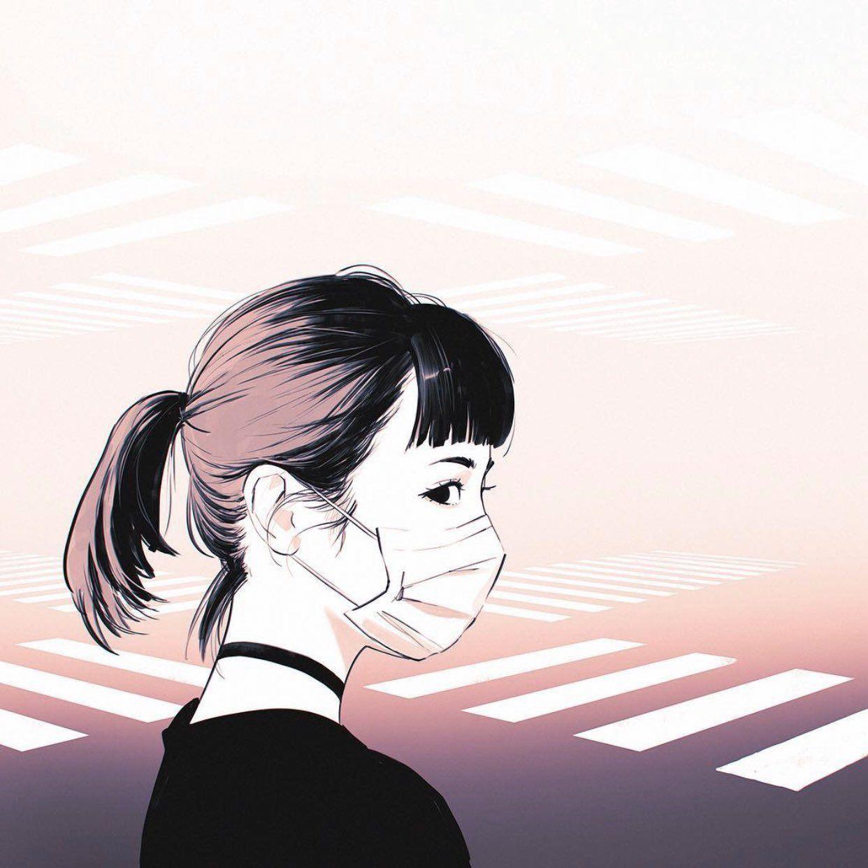 イリヤ 攻殻機動隊sac 2045配信中 on twitter ilya kuvshinov aesthetic art kawaii illustration