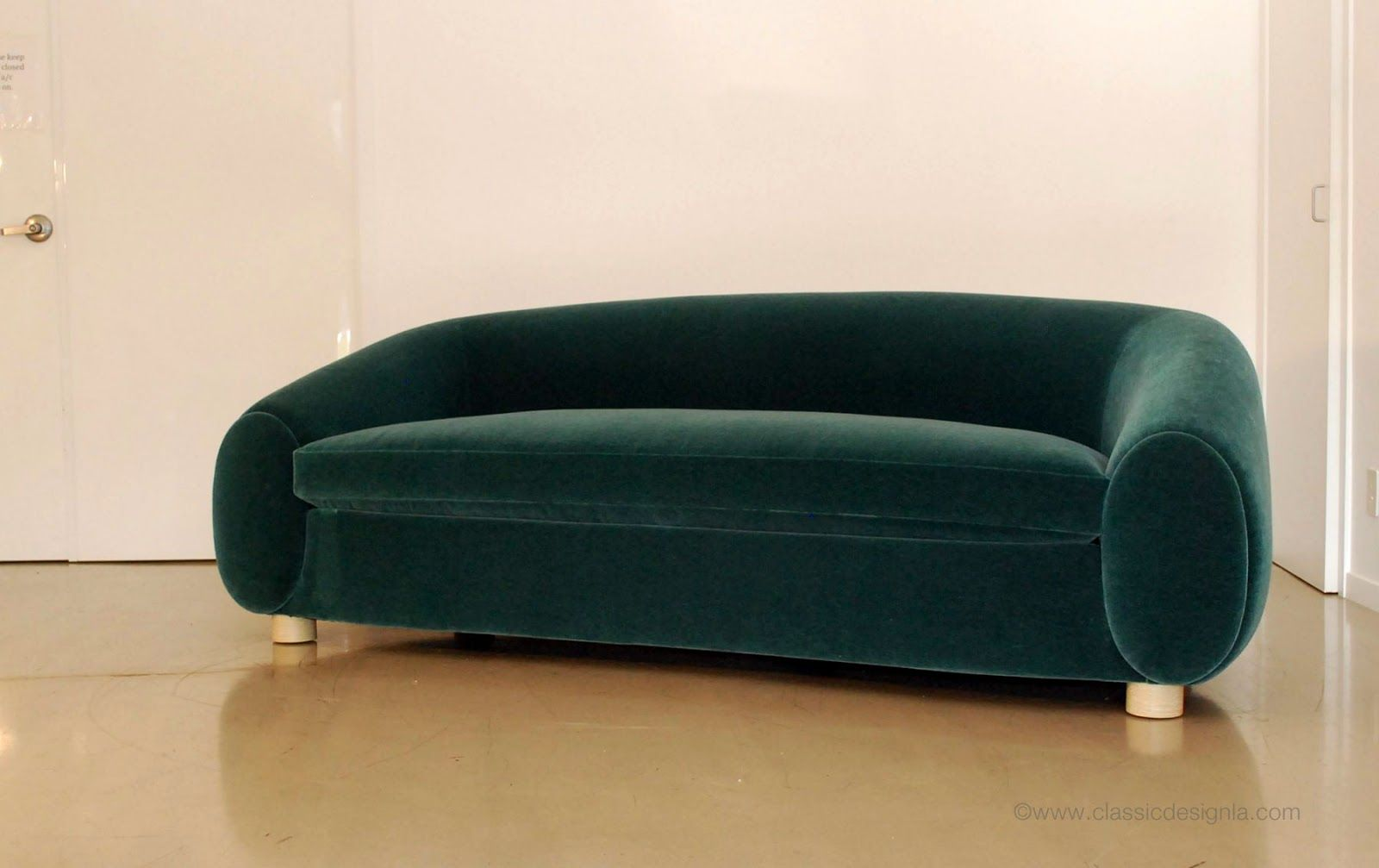 Ours Polaire Jean Royere Inspired Polar Bear Sofa Classic Design