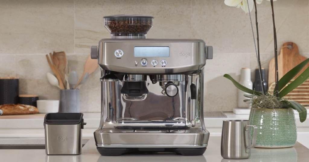 سعر مكينة سيج باريستا برو امازون البريطاني آلة قهوة اسبريسو وعيوبها ومميزاتها In 2021 Grinding Coffee Beans Barista Coffee