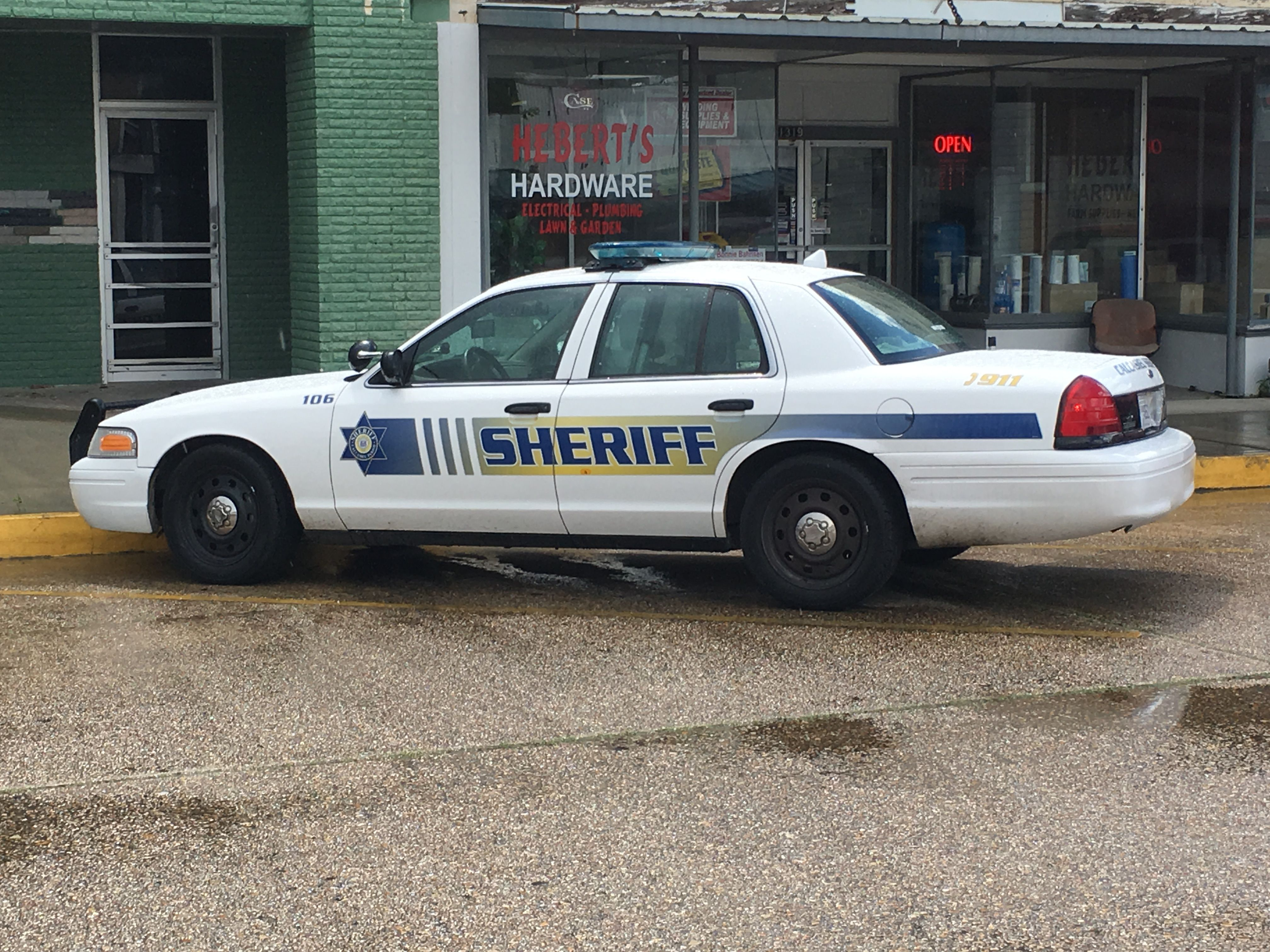 Calctsieu Parish Sheriff S Office Ford Crown Victoria Louisiana