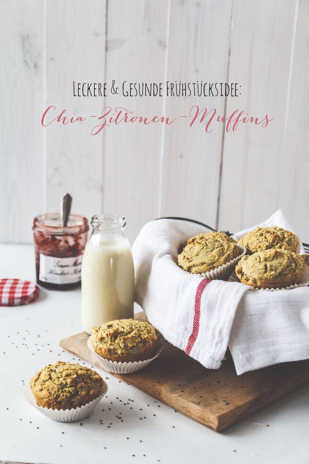 Chia-Zitronen-Muffins
