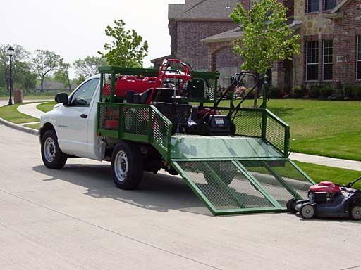 landscape truck beds
