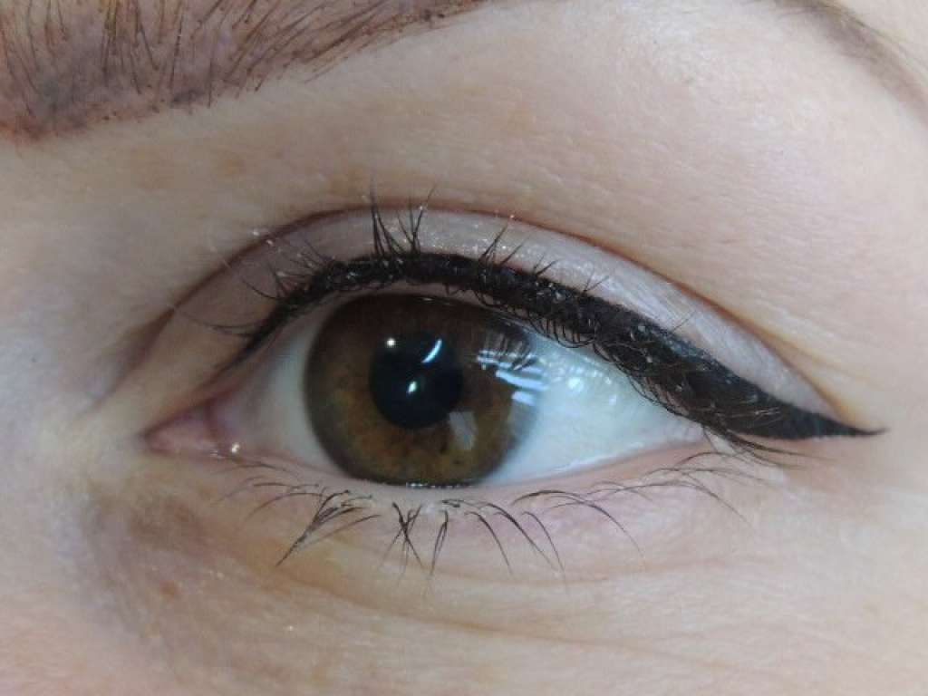 Eyeliner Tattoo One1lady Makeup Eyes Eyemakeup