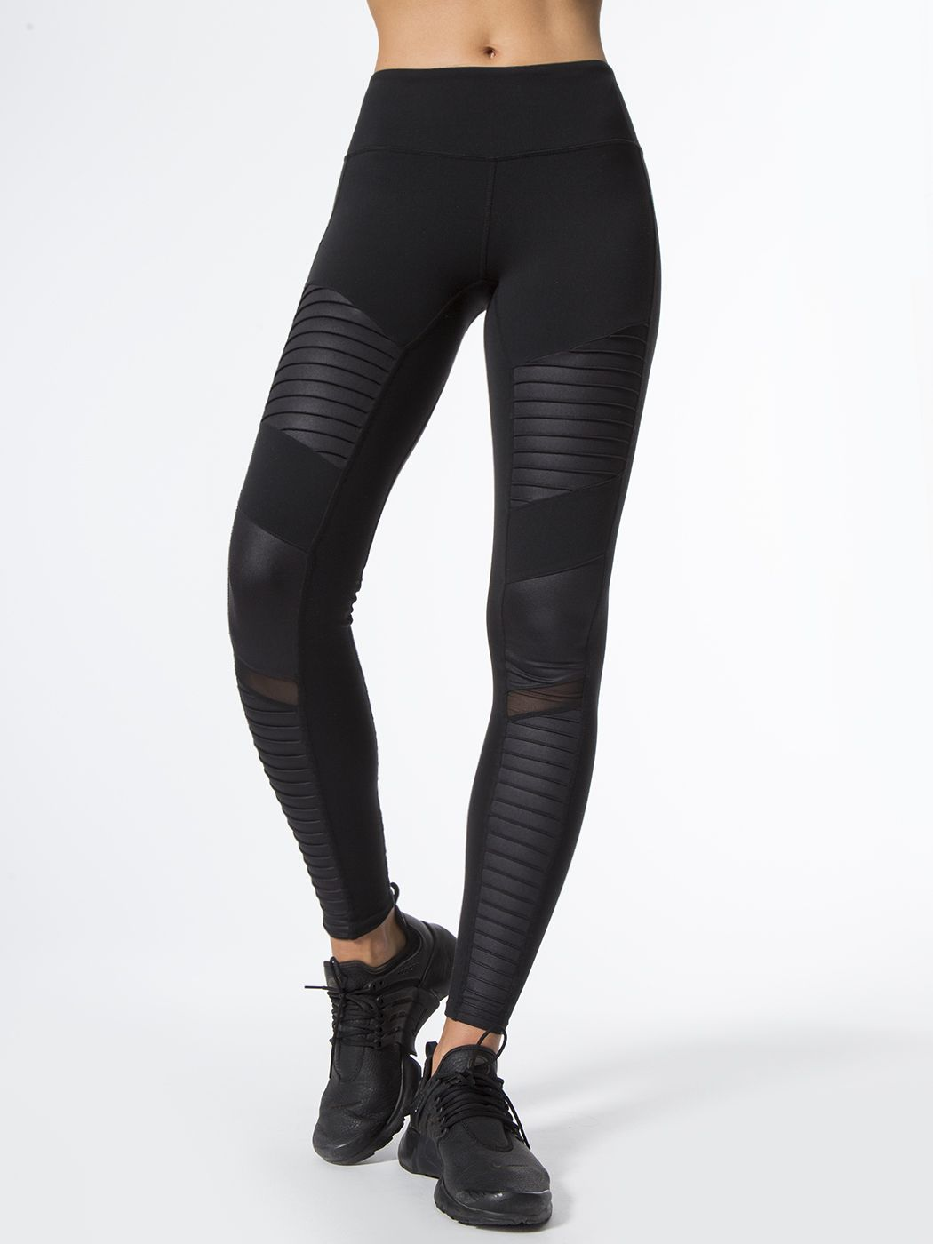 4d9b219177538 Alo Yoga Moto Legging | Have to Have: For the gym | Black moto ...