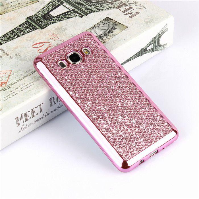 1e7e6aa49d652 Luxury Bling Glitter Case For Samsung Galaxy A3 A5 J1 J5 J7 J3 2016 S4 S5  Neo S6 S7 Edge S8 Grand Prime Soft Silicon Funda Cover