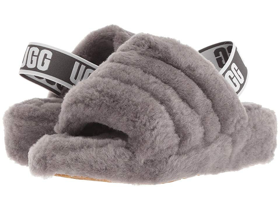 Ugg Fluff Yeah Slide Women S Slippers Charcoal In 2020 Womens Uggs Ugg Boots Uggs