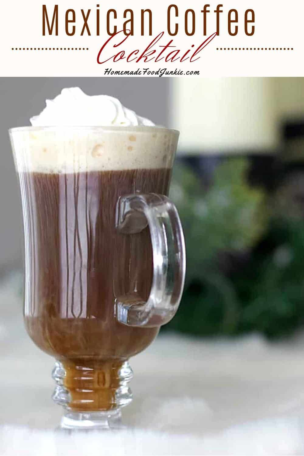 Mexican Coffee Drink Recipe with Kahlua
