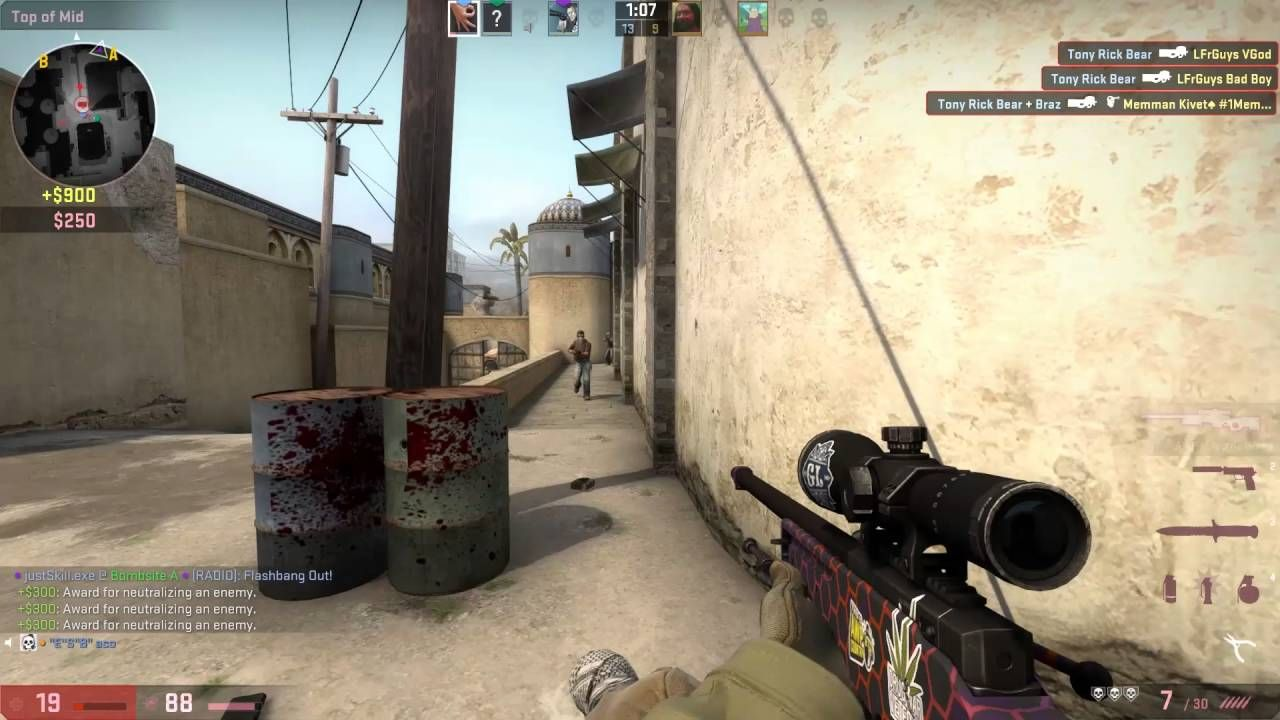 My Best Moment On CSGO So Far #games #globaloffensive #CSGO #counterstrike #hltv #CS #steam #Valve #djswat #CS16