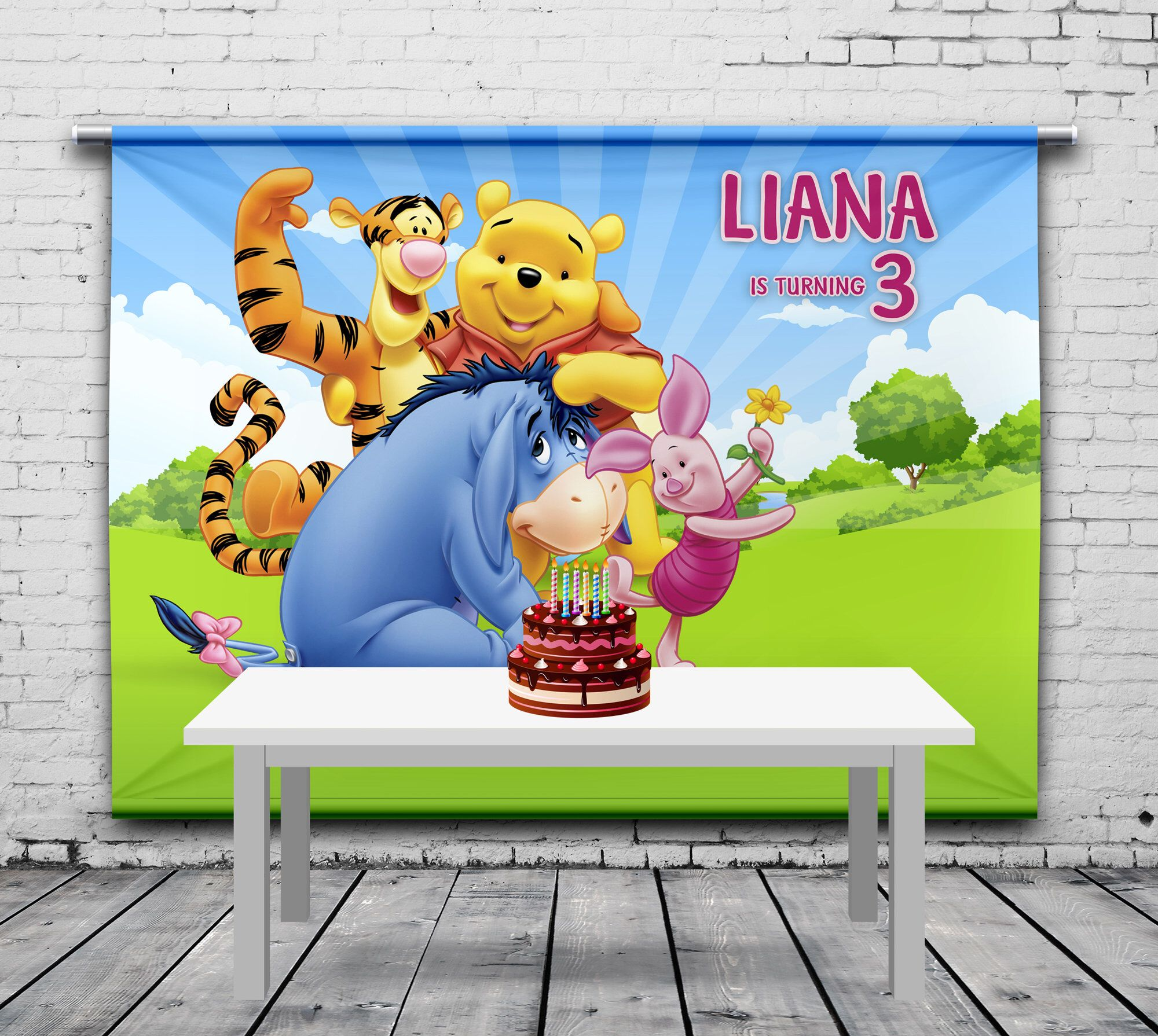 winnie the pooh birthday backdrop, party hr manager resume objective business student template skills for information technology