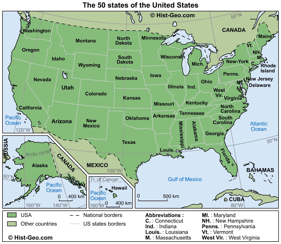 us mapas