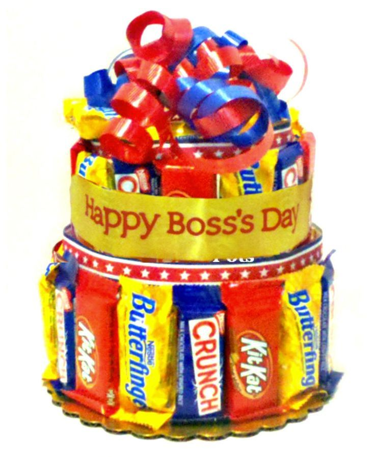 Candy Bar Bouquet Bosses Day 2011 Cookie And Candy Gifts