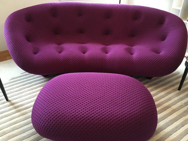 sofa ploum, großes modell + hocker von ligne roset #sofa #hocker, Wohnzimmer dekoo