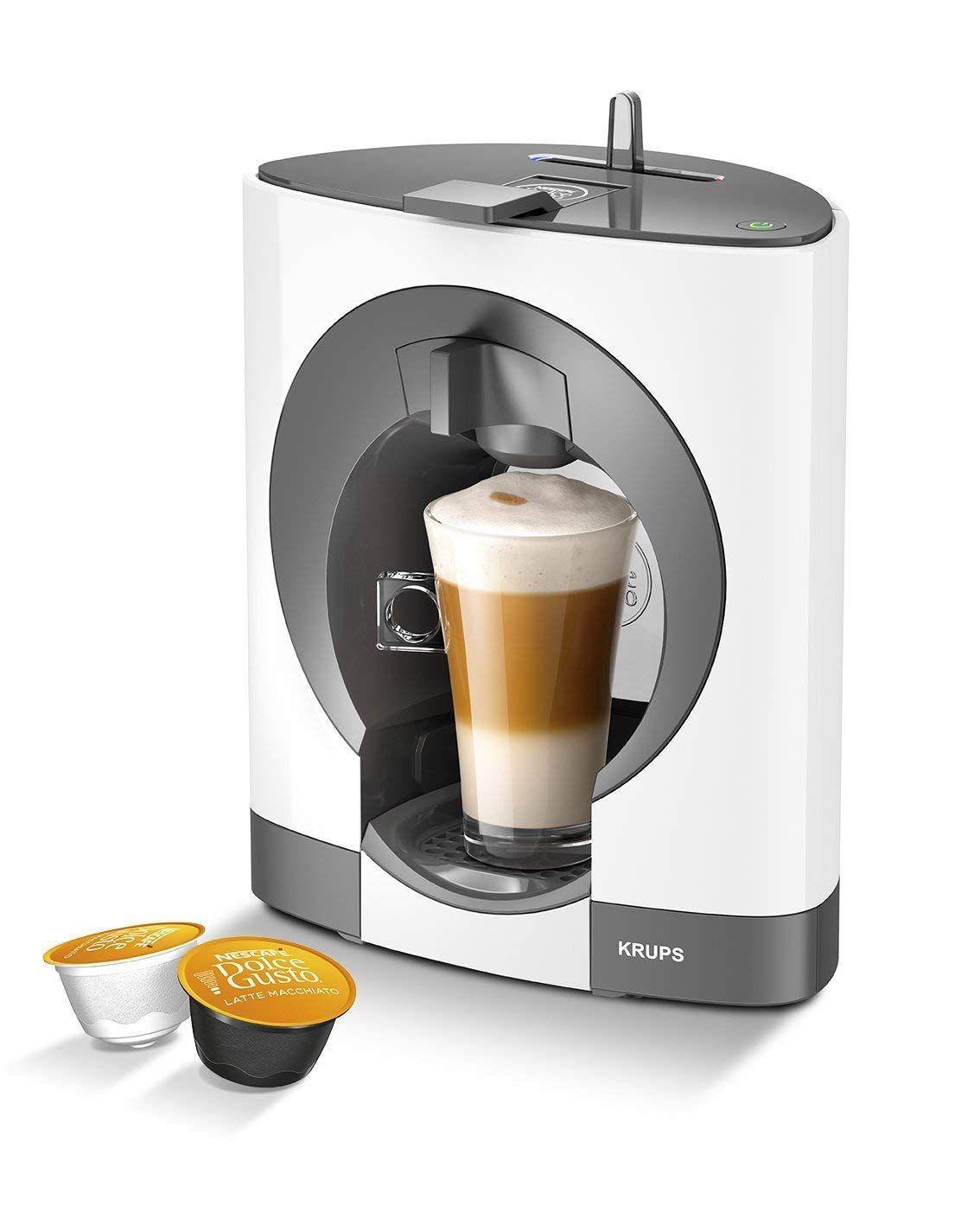 White, Oblo NESCAFE Dolce Gusto Oblo Manual Coffee