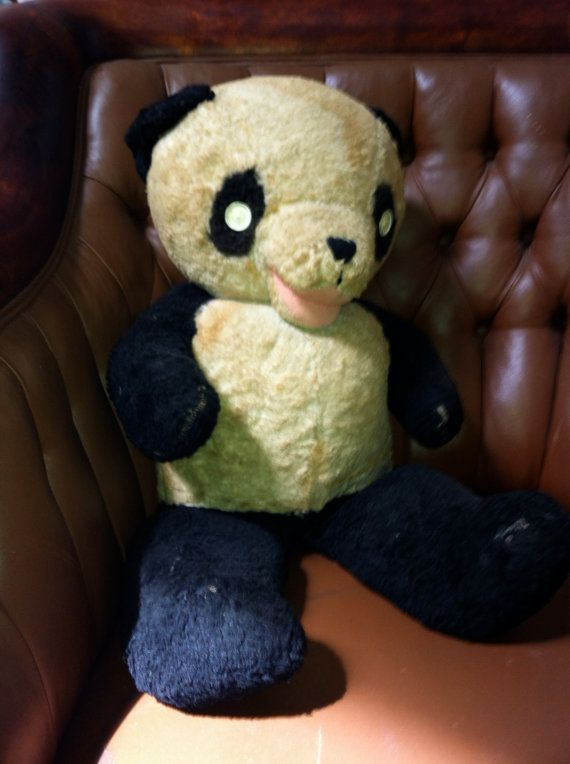 vintage teddy bear gund