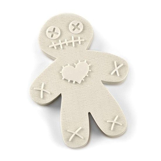 """""""Cursed Cookies"""" Voodoo Doll Cookie Cutter by Fred & Friends http://www.inkedshop.com/cursed-cookies-voodoo-doll-cookie-cutter-by-fred-friends.html"""