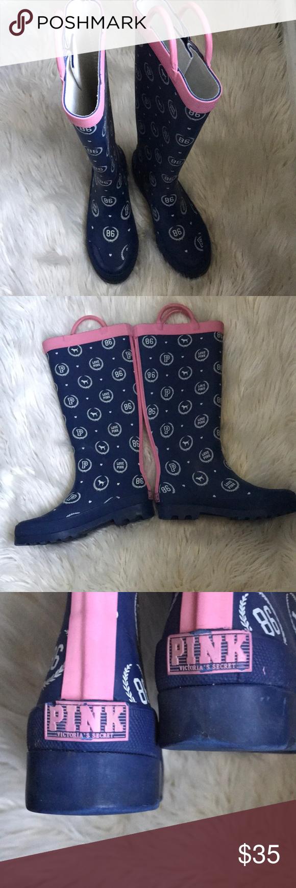 Victoria secret shoes, Boots, Rain boots
