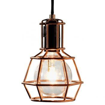 Design house stockholm work lamp copper pendants lighting finnish design shop