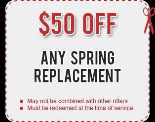 Garage Door Spring Repair Coupon Door Repair Garage Door Repair