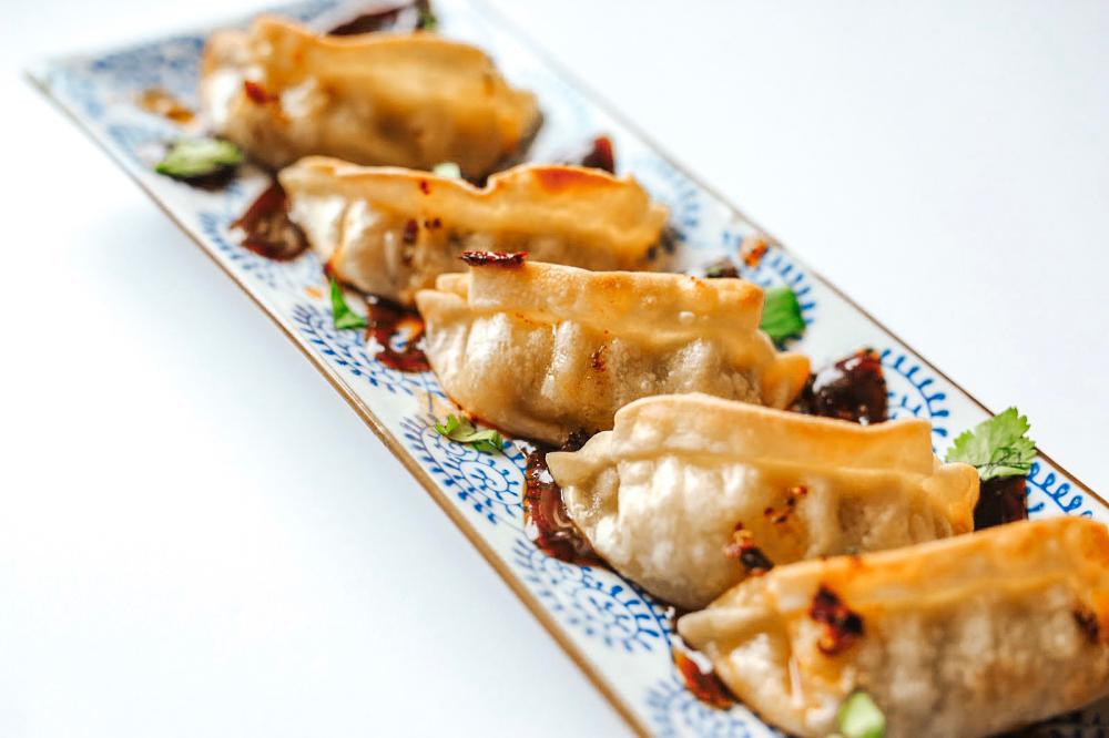 How to Air Fryer Frozen Potstickers/Dumplings Fit Happy