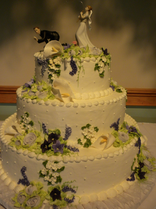 fishing wedding cake by JUNE GLIDDEN | CAKES FOR THE SUGAR QUEEN ...