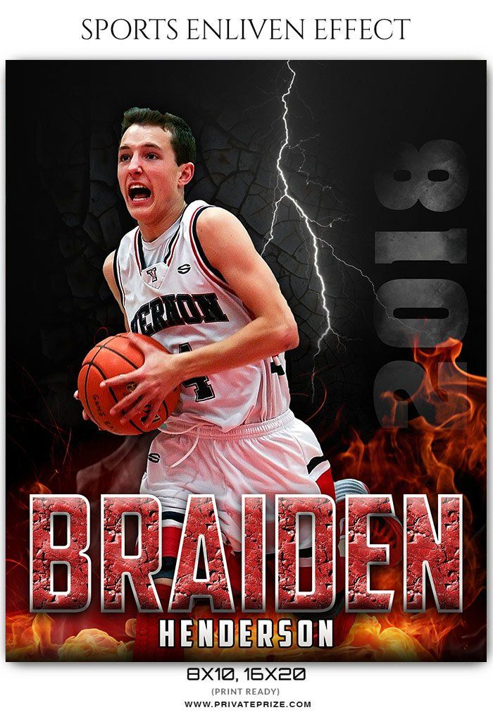 Braiden Henderson Basketball Sports Enliven Effects Photography