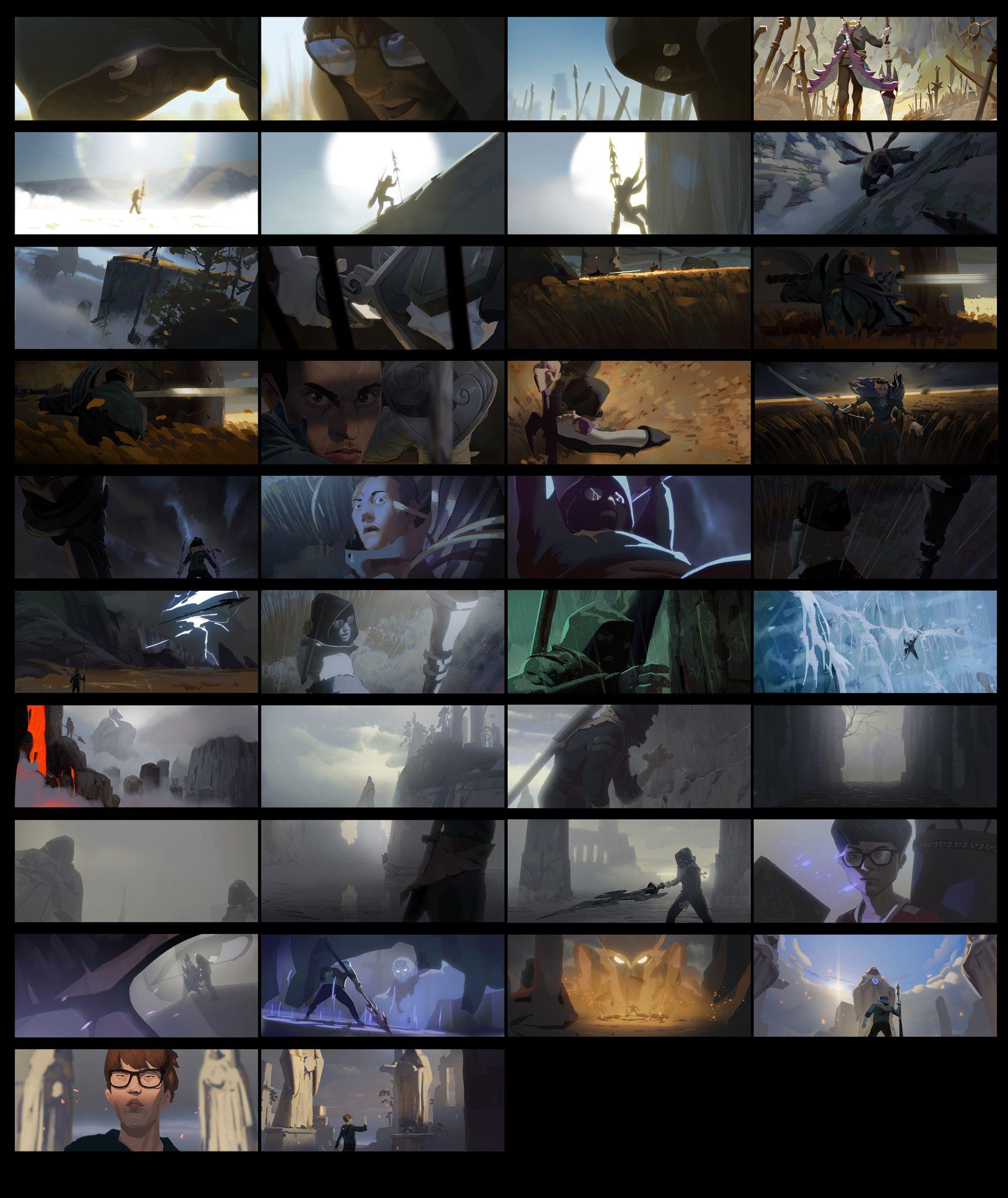ArtStation - League of Legend 'RISE', Kevin Le Moigne | Life