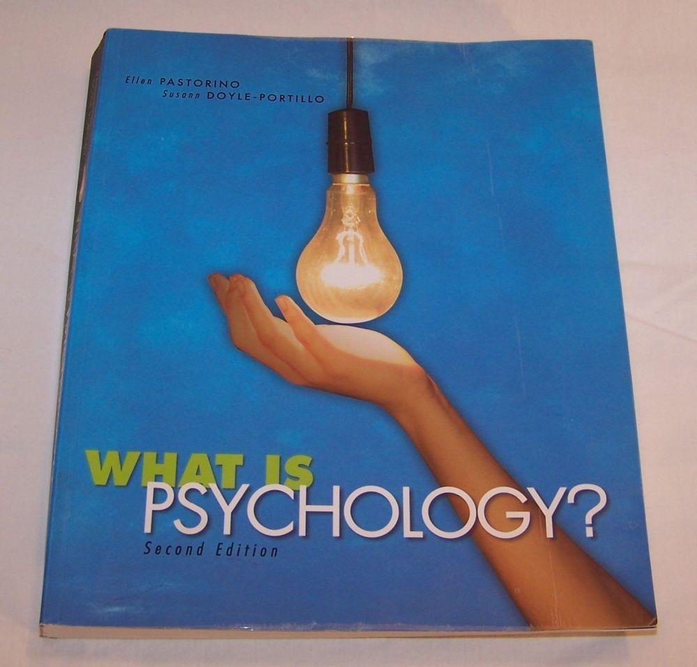 What is Psychology? Second Ed. by Pastorino, Ellen E. / Doyle-Portillo, Susann #Textbook #vintagephilly