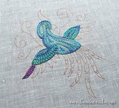 Bird Of Paradise A Tambour Embroidery Practice Project Pinterest