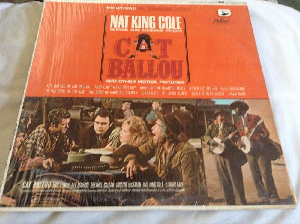 Nat King Cole Sings His Songs From Cat Ballou And Other Motion Pictures LP Vinyl