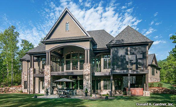 Home Plan Designs: Walkout Basement | Basement house plans ...