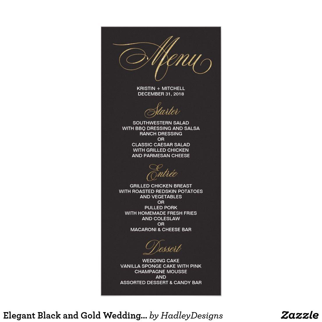 Elegant Menu Cards \u2022 Modern Menu Cards \u2022 Wedding Menu Card \u2022 Reception Menu Card \u2022 Menu Template \u2022 Printable Menu Cards