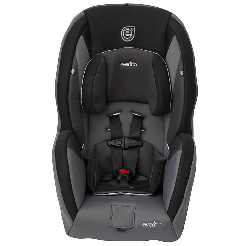The Evenflo SureRide DLX Convertible Car Seats 2 In 1 Design Can Be Used Rear Facing For Infants And When Ready Converts To Forward