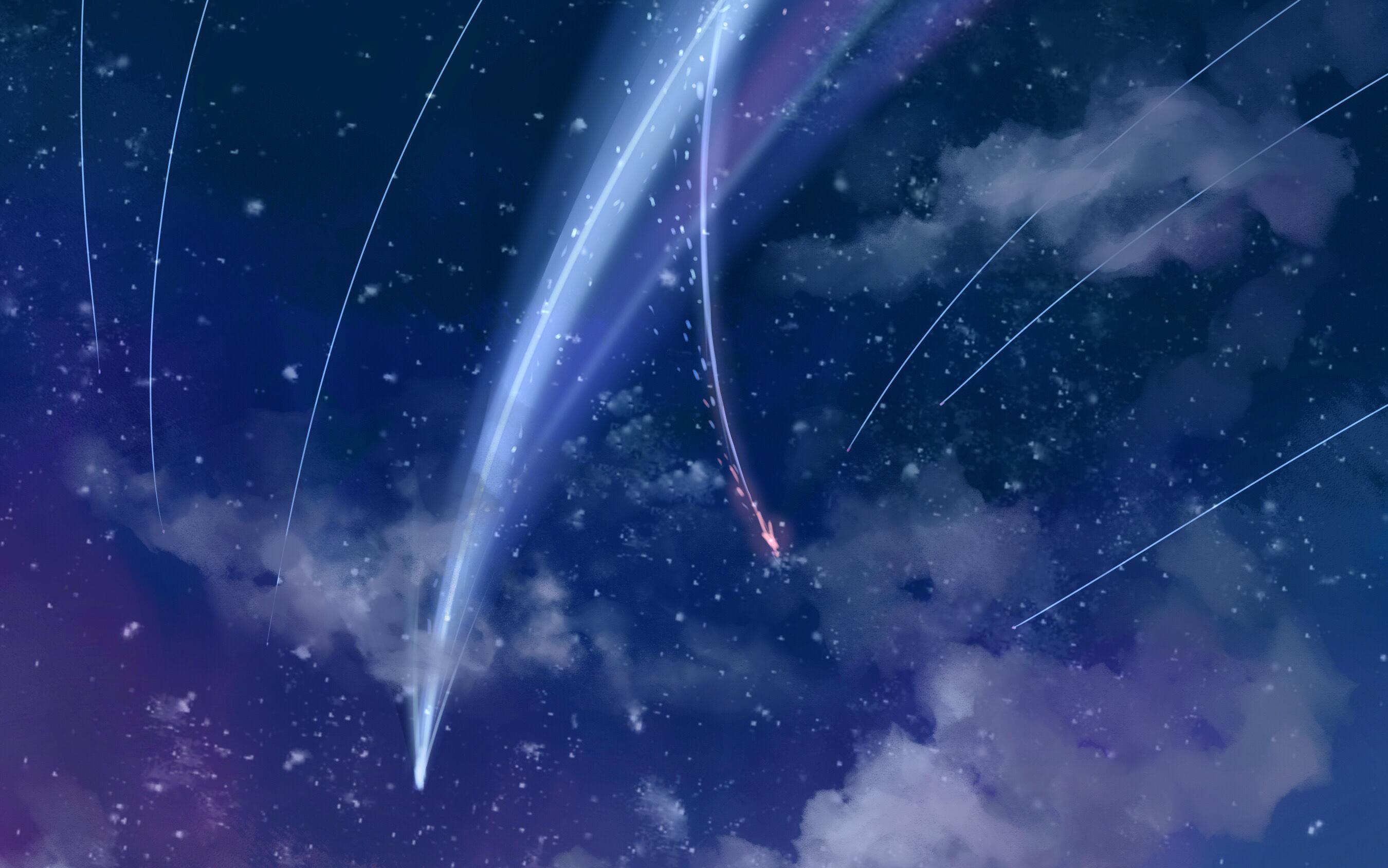 Anime Your Name. Kimi No Na Wa. Fondo de Pantalla Anime