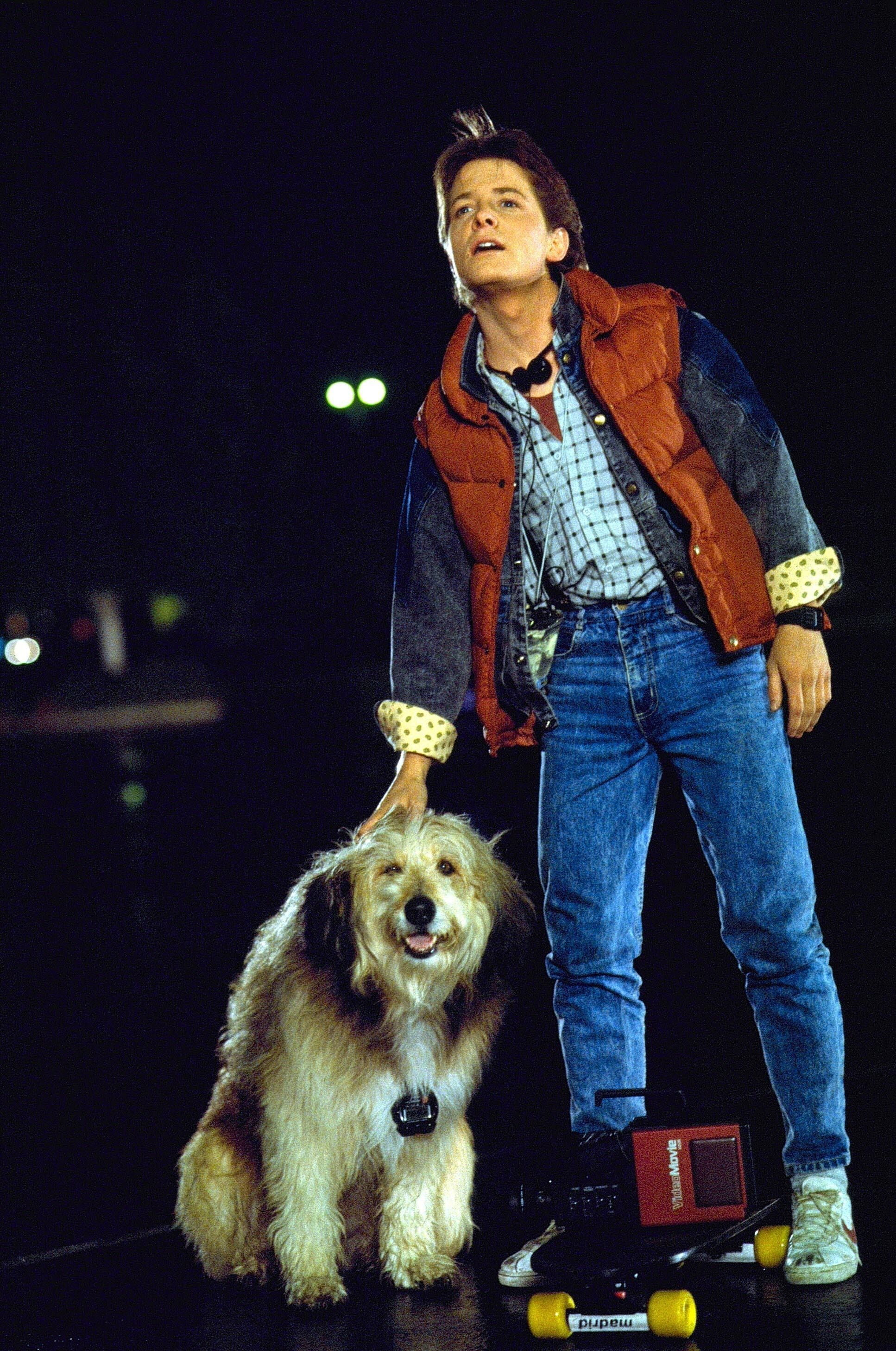 new year old look style inspiration from marty mcfly marty mcfly costume back to the. Black Bedroom Furniture Sets. Home Design Ideas