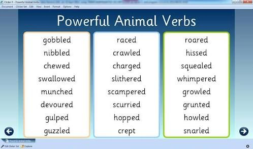 strong verbs for writing - Google Search The Writing Life - powerful verbs for resume