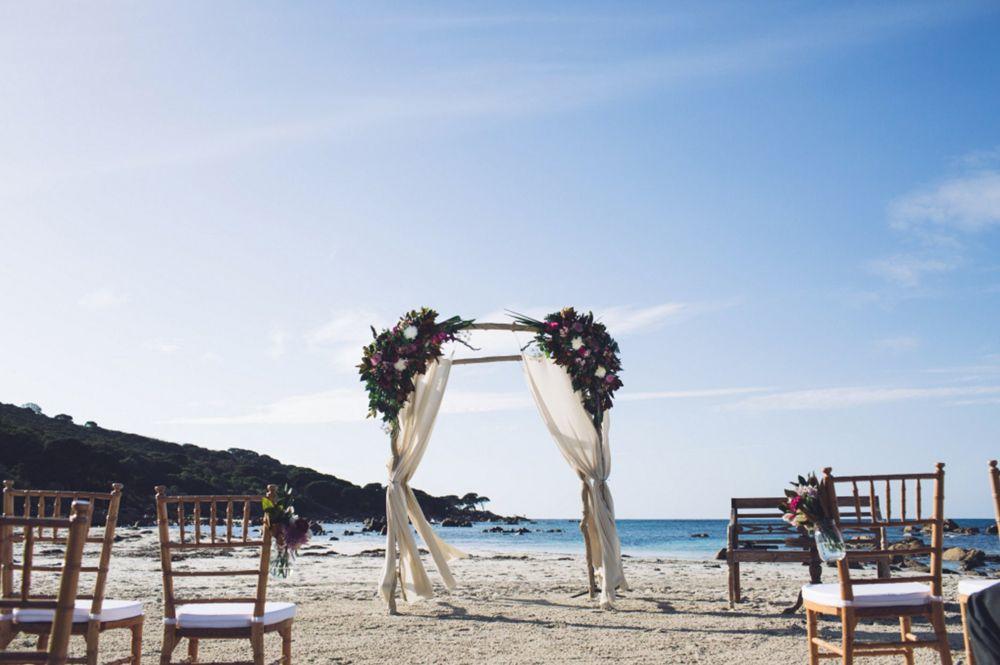 Best outdoor wedding ceremony locations / Bunker Bay Western Australia