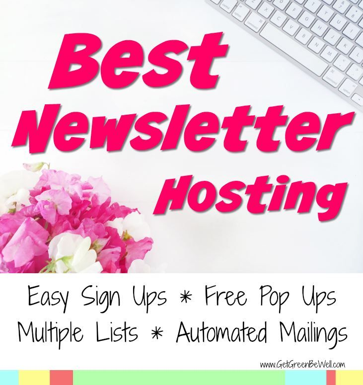 Best Newsletter Hosting for Easily Capturing Visitors, Scheduling Emails, and Using Pop Ups.