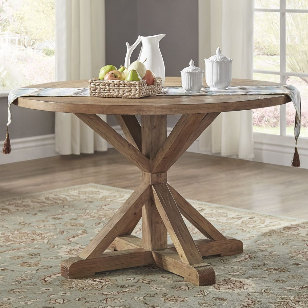 48 inch dining table 40 inch benchwright rustic xbase 48inch round dining table by signal hills